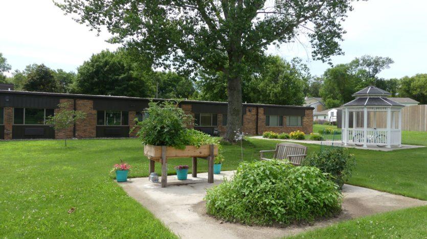 Farmstead in White, SD - Community Garden Onsite