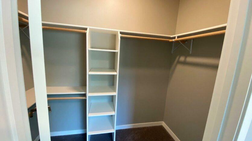 Farmstead in White, SD - Master Bedroom Closet