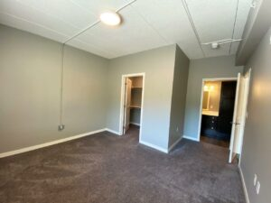 Farmstead in White, SD - Master Bedroom Closet and Bathroom