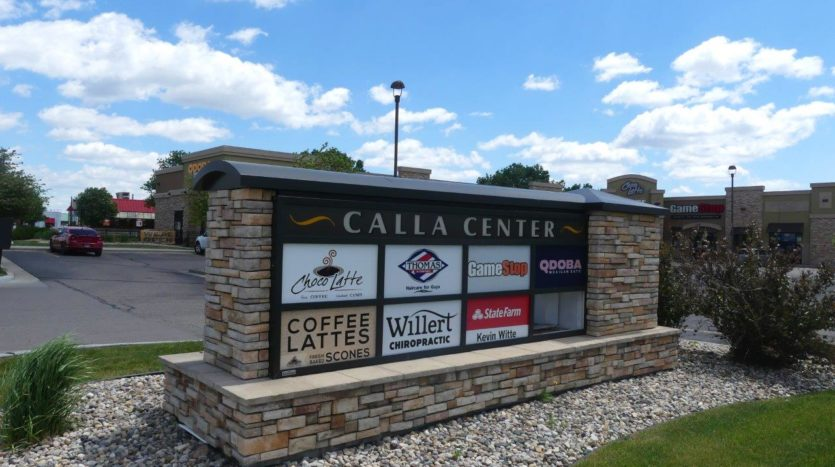 Calla Center in Brookings, SD - Sign