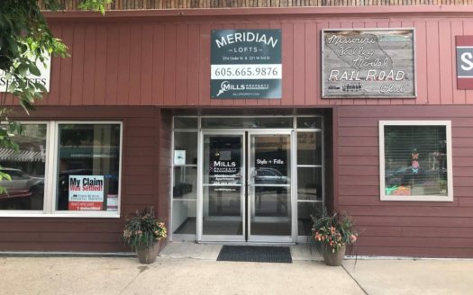 Meridian Lofts in Yankton, SD - Exterior