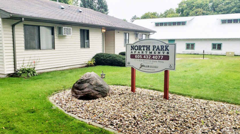 North Park Apartments in Wilmot, SD - Exterior