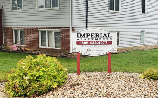 Imperial Apartments in Wilmot, SD - Exterior