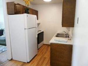 Kanyon Krossing Apartments in Miller, SD - Kitchen