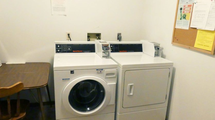 Miller Arms in Miller, SD - - Onsite Laundry