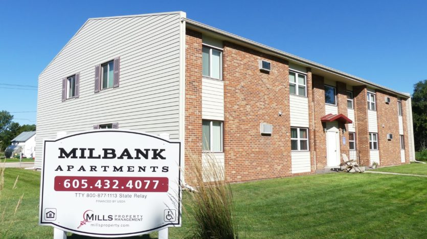 Milbank Apartments in Milbank SD - Exterior