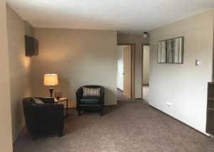 Milbank Apartments in Milbank SD - Living Room