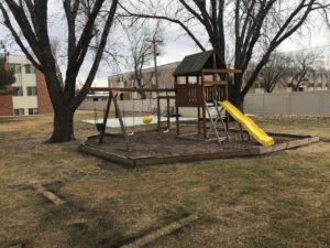 Village Pointe Apartments in Mitchell, SD - playground
