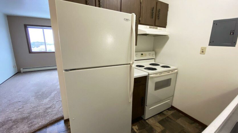 Village Pointe Apartments in Mitchell, SD - Alternative Floor Plan Kitchen2