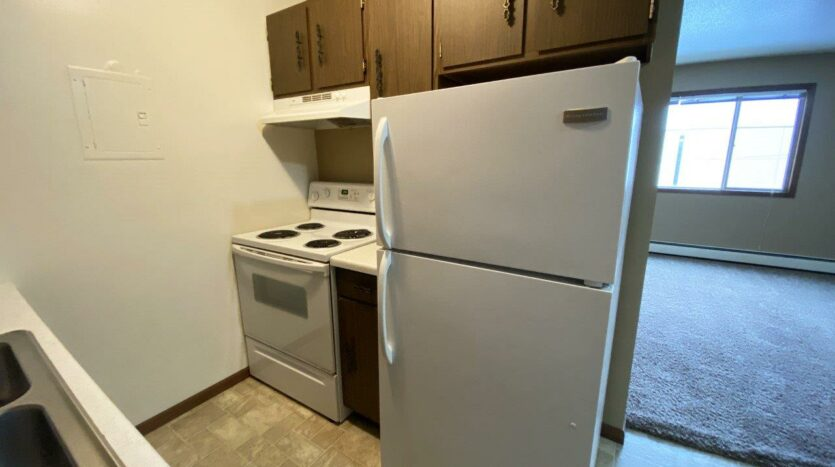 Village Pointe Apartments in Mitchell, SD - Kitchen2