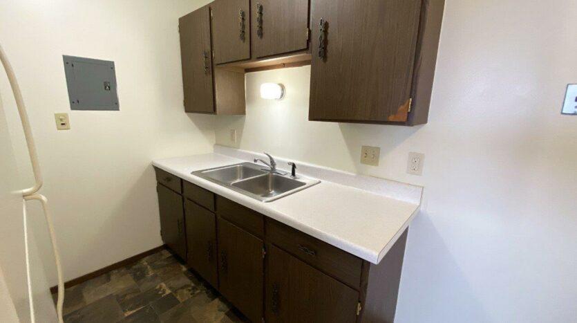 Village Pointe Apartments in Mitchell, SD - Alternative Floor Plan Kitchen1