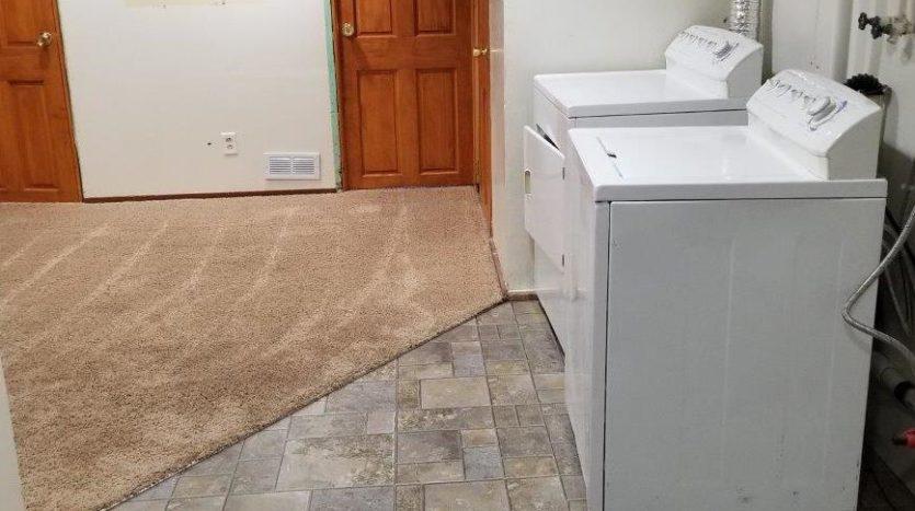 16 11th Street NE in Watertown, SD - Basement, Washer & Dryer