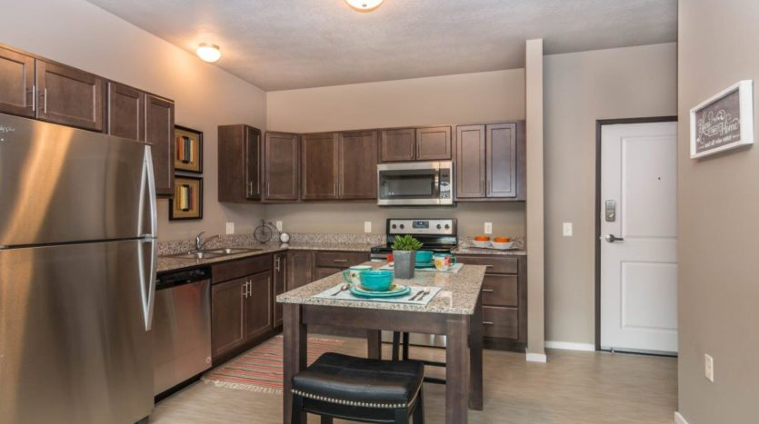 Edgerton Apartments II in Mitchell, SD 1Bed 1Bath-Kitchen