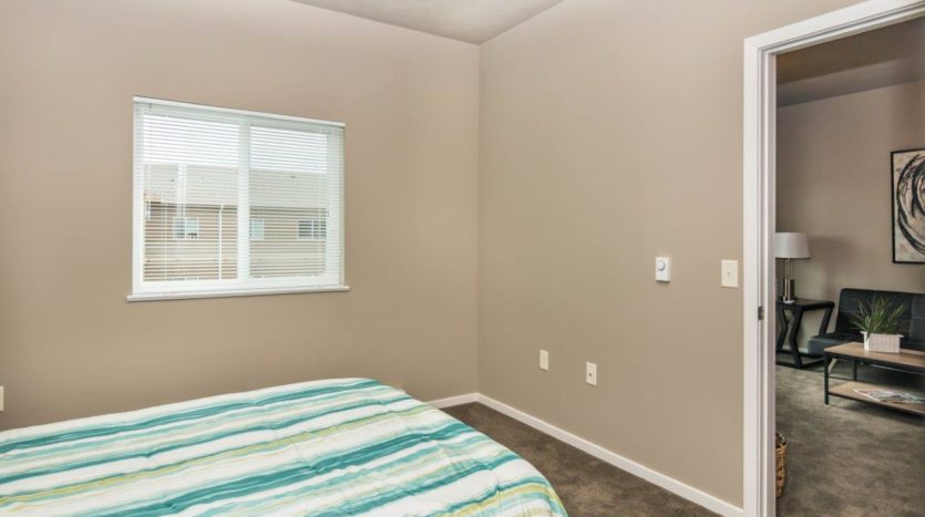 Edgerton Apartments II in Mitchell, SD 1Bed 1Bath-Bedroom