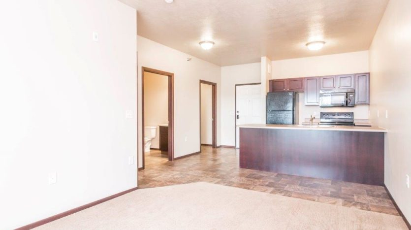 Edgerton Apartments in Mitchell, SD -1Bed 1Bath-Wide View