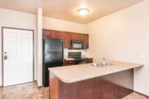 Edgerton Apartments in Mitchell, SD -1Bed 1Bath-Kitchen