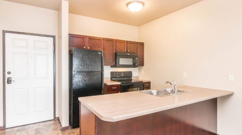 Edgerton Apartments in Mitchell, SD -1Bed 1Bath-Kitchen