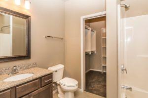 Edgerton Apartments II in Mitchell, SD 2Bed 2Bath-Bathroom