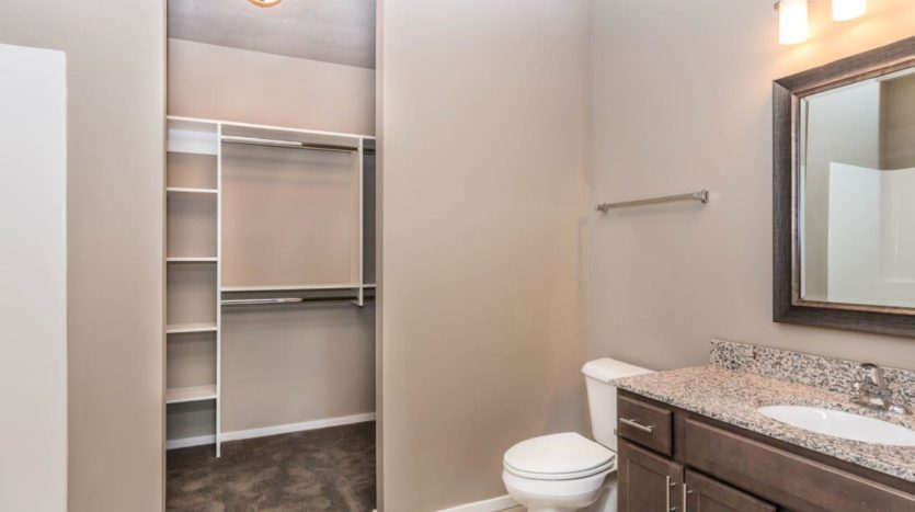 Edgerton Apartments-II 2Bed 2Bath-Bathroom View