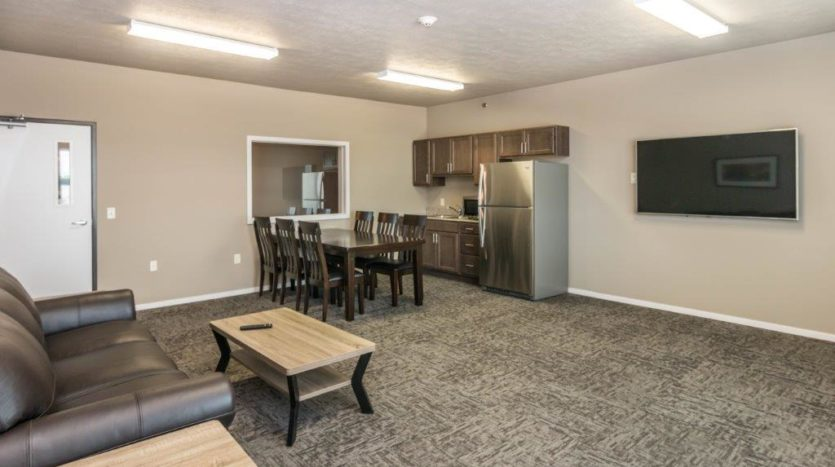 Edgerton Apartments II in Mitchell, SD Community Room