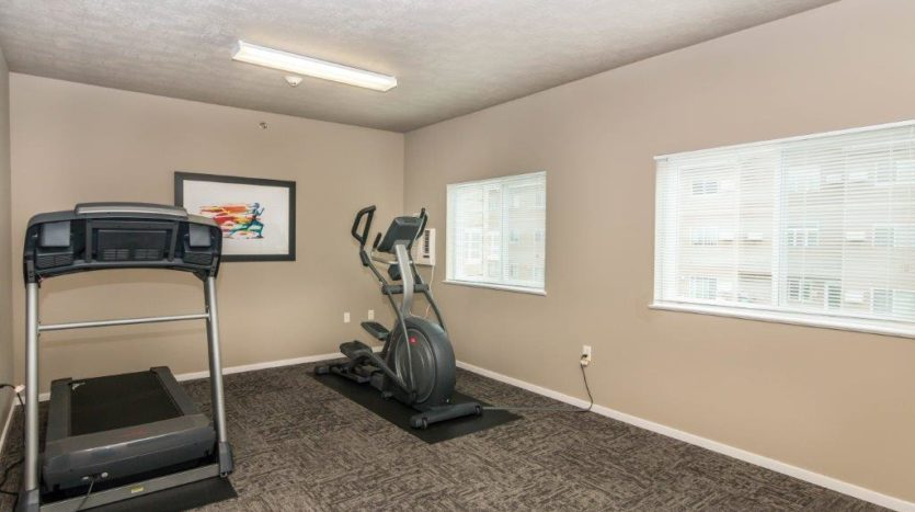 Edgerton Apartments II in Mitchell, SD Fitness Center