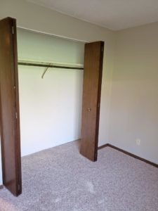 Eastview Apartments in Watertown, SD - Bedroom 2 Closet