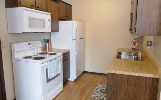 Center Street Apartments in Flandreau, SD - Kitchen