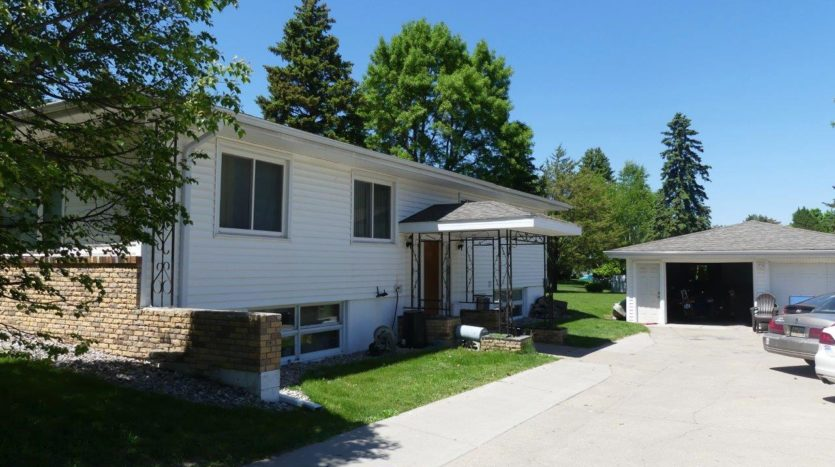 2021 3rd Street in Brookings, SD - Side Exterior and Garage
