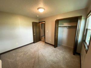 Prairie Circle Duplexes in Brookings, SD - 801 Bedroom 2 Closet