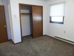 St Stephens Apartments in Bridgewater, SD - Bedroom 2 Closet View