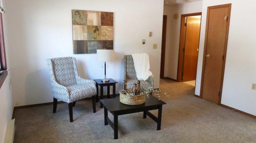 St Stephens Apartments in Bridgewater, SD - Living Room