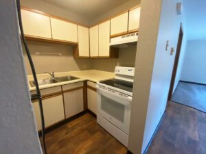 Prairie Circle Apartments in Brookings, SD - Lower Level Apartment Kitchen2