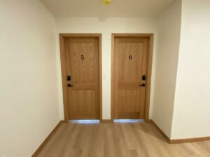Egan Ave Residence in Madison, SD - 703 suites 5 and 6 doors