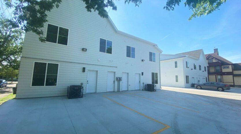 Egan Ave Residence in Madison, SD - Parking