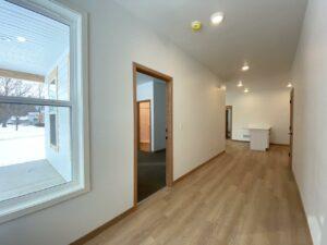 Egan Ave Residence in Madison, SD - 703 main level hallway