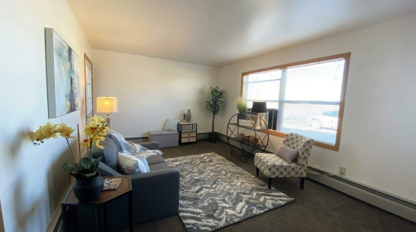 Prairie View Homes in Woonsocket, SD - 303 Living Room2