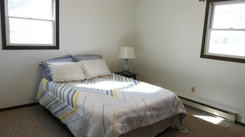 Southtown Apartments in Salem, SD - Bedroom 1 (Alternative Layout)
