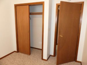 Southtown Apartments in Salem, SD - Bedroom 2 Closet