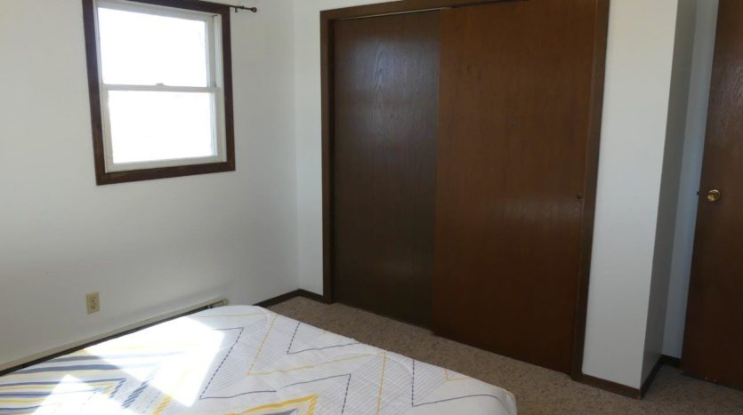 Southtown Apartments in Salem, SD - Bedroom 1 Closet (Alternative Layout)