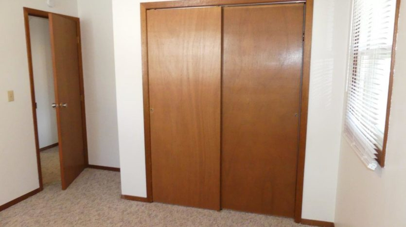 Southtown Apartments in Salem, SD - Bedroom 1 Closet
