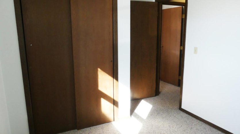 Southtown Apartments in Salem, SD - Bedroom 2 Closet (Alternative Layout)