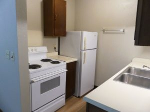 Hill Center Apartments in Salem, SD - Kitchen (Two Bedroom Apartment)