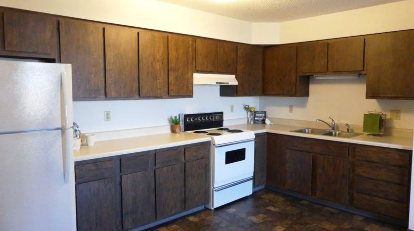 Southtown Apartments in Salem, SD - Kitchen (Alternative Layout)