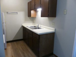 Hill Center Apartments in Salem, SD - Kitchen 2 (Two Bedroom Apartment)