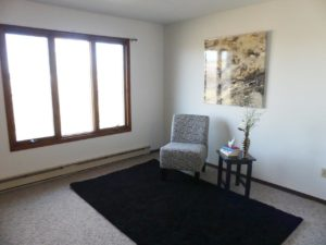 Southtown Apartments in Salem, SD - Living Room (Alternative Layout)