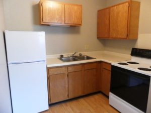 Hill Center Apartments in Salem, SD - Kitchen (Studio Apartment)