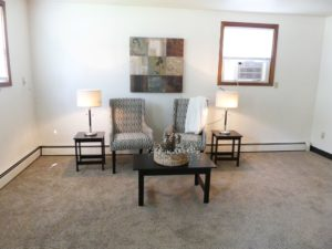 Applewood Apartments in Vermillion, SD - Living Room