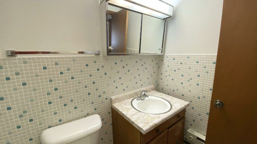 Winsor Apartments in Mitchell, SD - Bathroom Vanity