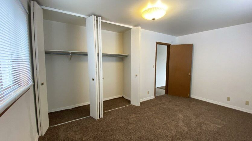 Winsor Apartments in Mitchell, SD - Bedroom 1 Closets