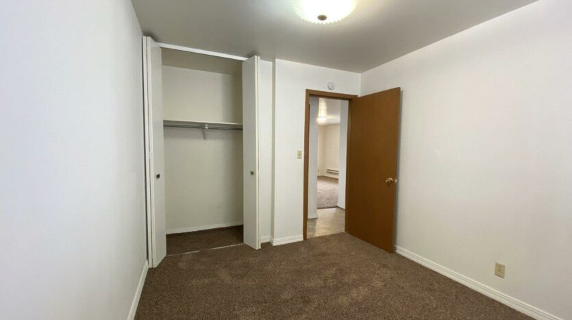 Winsor Apartments in Mitchell, SD - Bedroom 2 Closet